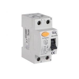 Wyłącznik różnicowo-prądowy, 2P KRD6-2/63/30-A 23190