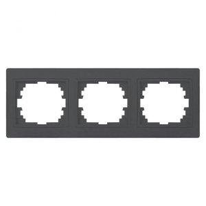 Ramka potrójna pozioma DOMO 01-1480-041 gr 24941