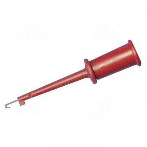 Chwytak haczyk. MINI H105B-R 3A, czerwony