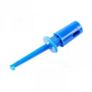 Chwytak haczyk. MINI H16F-BU 0,3A niebieski