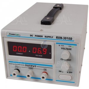 Zasilacz lab 3010D 30V/10A DC LED PowerLab