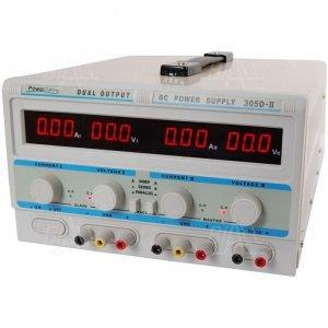 Zasilacz lab 305D-II 2x30V/5A 5V/3A DC LED PowerLab