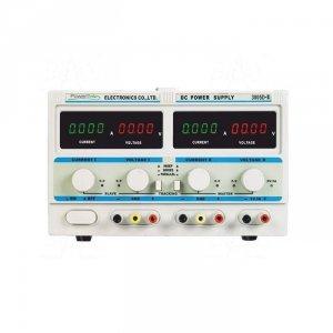 Zasilacz lab P-3005D-II DC 2x30V/5A 5V/3A 10mV/1mA LED PowerLab