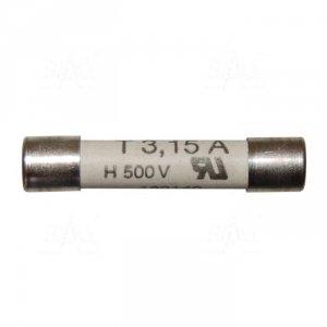 Bezpiecznik 3,15A/500V 6x32mm do 6010A/6011A