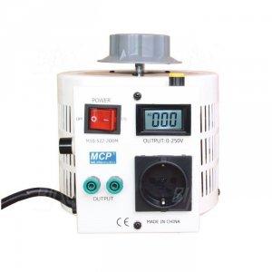 Autotransformator reg.  M10-522LCD-10 260V/4A 1kVA MCP