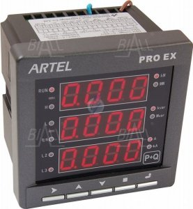 Miernik mocy 3-faz P+Q S52112YY PROEX ARTEL