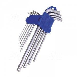 OPT ZKA Zestaw kluczy imbusowych/ampułowych FW 1,5-10 (9sztuk)