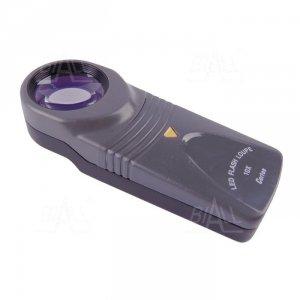 Lupa ręczna podświetl. R7519  30mm/10x