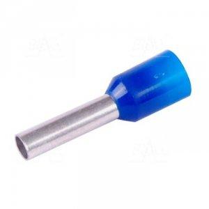 KR025010 BL Tulejka izolow. 2,5mm2x10   100szt