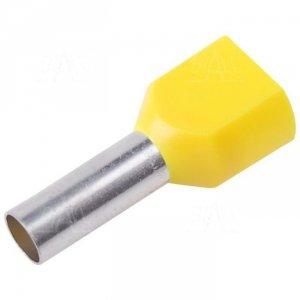 KR060014x2 Tulejka izolow. 2x6,0mm2x14  100szt