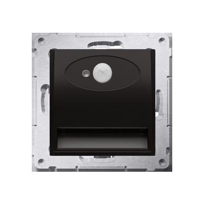 Oprawa oświetleniowa LED z czujnikiem ruchu, 230V antracyt, metalizowany