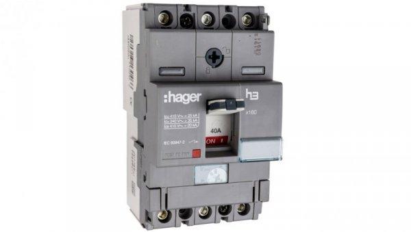 Wyłącznik mocy 40A 3P 25kA HHA040H