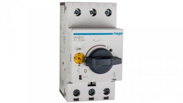 Wyłącznik silnikowy 3P 0,03kW 0,1-0,16A MM501N