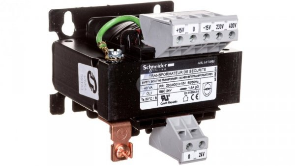 Transformator 1-fazowy 40VA 230/24V ABL6TS04B