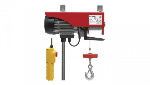 Elektryczna wciągarka linowa 900W 250/500kg YT-5904