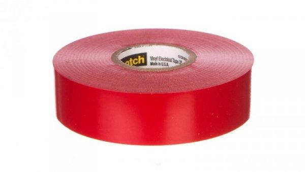 Taśma izolacyjna 19mmx20m Scotch 35 czerwona 80611211568/7000031668 /20szt./