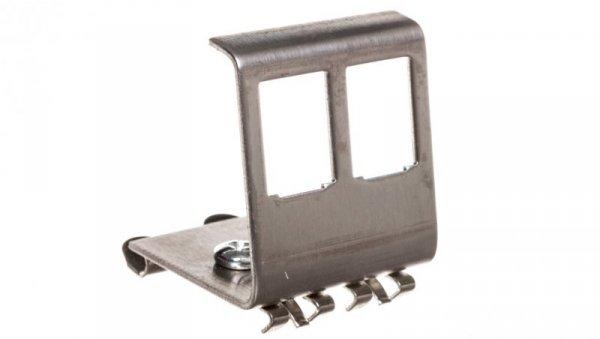 Adapter DIN na moduł 2x Keystone AN-25185