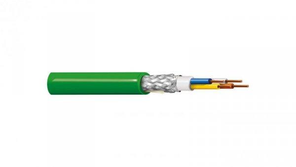 Kabel PROFINET 4x22AWG kat.5e PVC drut zielony BL-70006E.01B100 /100m/