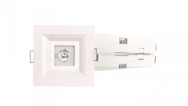 Oprawa awaryjna LOVATO P ECO LED 1W 120lm (opt. otwarta) 3h jednozadaniowa biała LVPO/1W/E/3/SE/X/WH