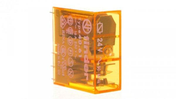 Przekaznik miniturowy 1P 16A 24V AC AgCdO 40.61.8.024.0000