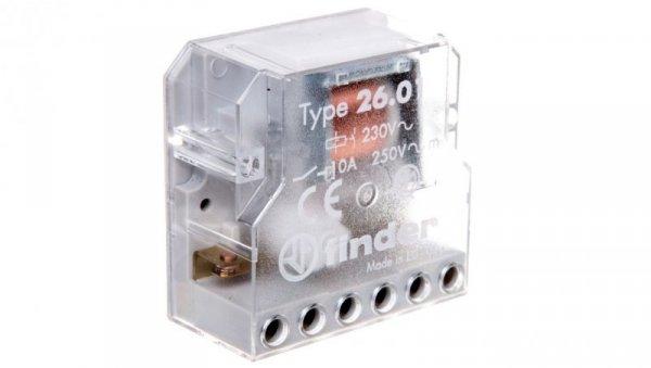 Przekaźnik bistabilny 1Z 10A 230V AC 26.01.8.230.0000