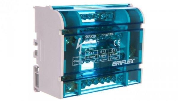 Blok dystrybucyjny 1P 6x10-35mm2 TD 100/125A 563820