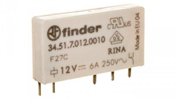 Przekaźnik miniaturowy 1P 6A 12V DC 34.51.7.012.0010