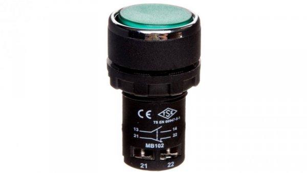 Przycisk sterowniczy monoblok zielony 1Z 1R T0-MB102DY