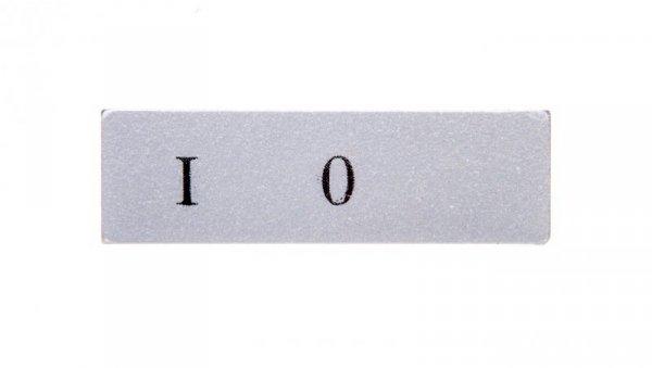 Etykieta opisana 8mm szara 0-I T0-BET08-01