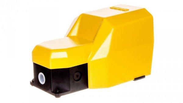 Wyłącznik nożny pojedynczy z osłoną żółty metal 2Z 2R T0-PDKS11GX10