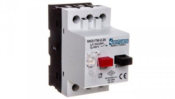 Wyłącznik silnikowy 3P 0,06kW 0,16-0,25A T0-MKS1TM-0.25