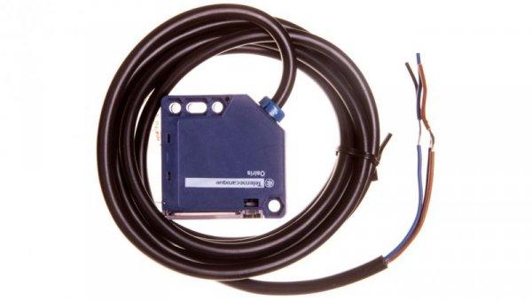 Czujnik fotoelektryczny Sn=1m 1Z PNP 12-24V DC odbiciowy kabel 2m XUK5APANL2