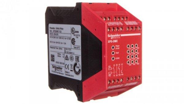 Przekaźnik bezpieczeństwa do 6 wyłączników magnetycznych XPSDME1132
