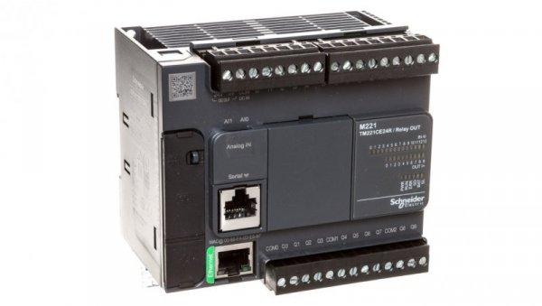Sterownik programowalny24 I/O przekaźnikowych Ethernet Modicon M221-24I/O TM221CE24R