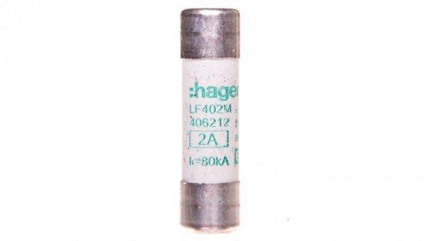 Bezpiecznik cylindryczny 14x51 aM 2A LF402M