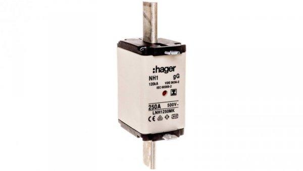 Wkładka bezpiecznikowa NH1 250A 500V gG LNH1250MK