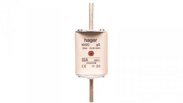 Wkładka bezpiecznikowa NH2C 32A 500V gG LNH2032M