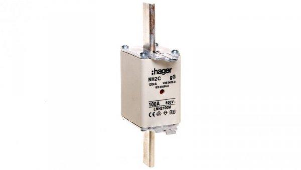Wkładka bezpiecznikowa NH2C 100A 500V gG LNH2100M