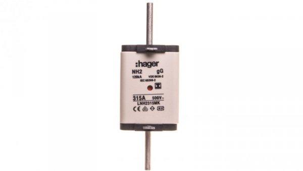 Wkładka bezpiecznikowa NH2 315A 500V gG LNH2315MK