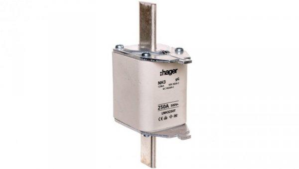 Wkładka bezpiecznikowa zwłoczna NH3C 250A AC 500V gG LNH3250T
