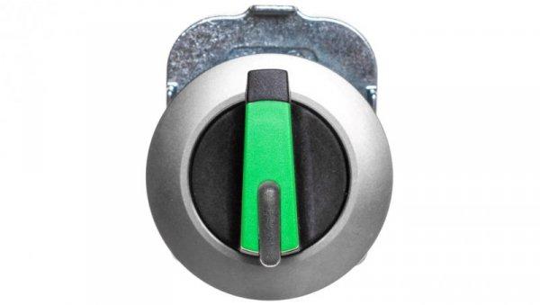 Napęd przełącznika 2 położeniowy O-I 30mm zielony z podświetleniem z samopowrotem metal mat IP69k Sirius ACT 3SU1062-2DC40-0AA0