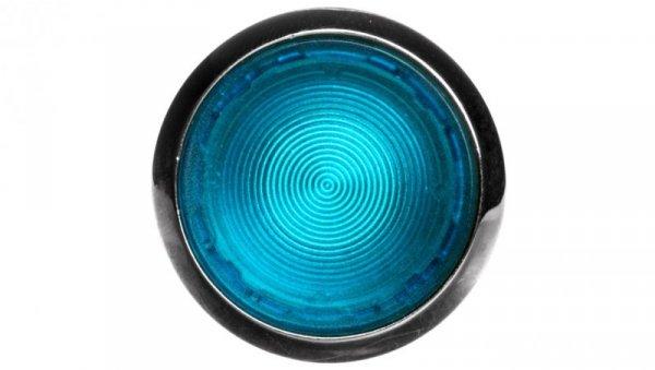 Napęd przycisku 22mm niebieski z podświetleniem z samopowrotem metalowy IP69k Sirius ACT 3SU1051-0AB50-0AA0