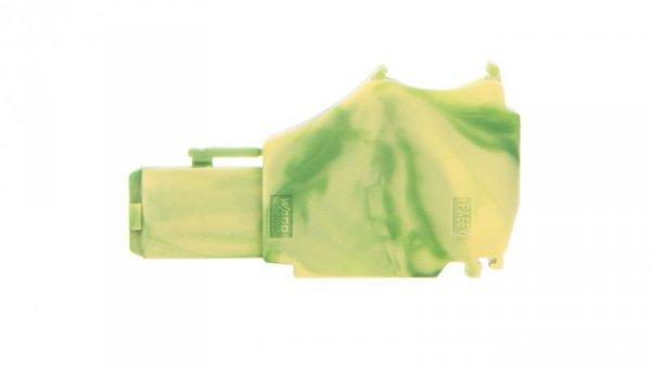 Moduł początkowy gniazda X-COMS żółto-zielony 2020-167  /250szt./