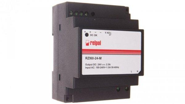 Zasilacz impulsowy 90-264V AC 24V DC 2,5A 60W RZI60-24-M 2615399