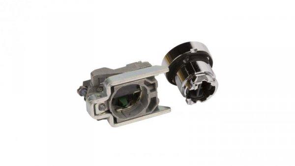 Przycisk sterowniczy 22mm czarny z samopowrotem 1Z XB4BA21