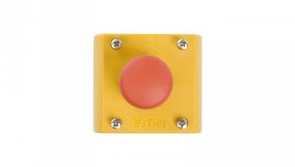 Kaseta z przyciskiem bezpieczeństwa przez pociągnięcie 1Z 1R IP66 M22-PV/KC11/IY 216525