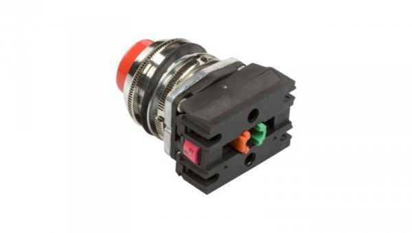 Przycisk sterowniczy 30mm czerwony z samopowrotem 1Z 1R W0-NEF30-W XY C