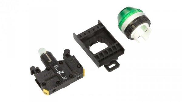 Lampka sygnalizacyjna 22mm zielona 230V AC LED ST22-LZ-230-LEDAC