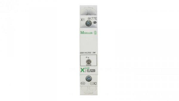 Lampka modułowa zielona 110-240V AC/DC Z-EL/G230 284922