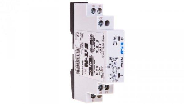 Przekaźnik czasowy 1P 8A 1sek-100h 24-230V AC/DC opóźnione załączenie/wyłączenie ZRER/W 110405